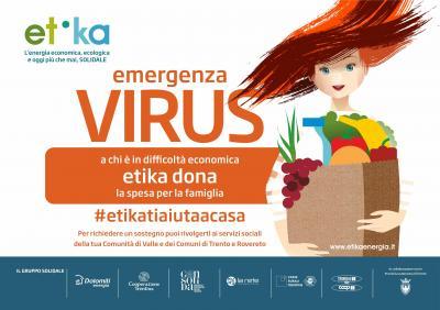 Federcoop | Etika contro l'emergenza sociale: inizia la consegna dei pacchi alimentari