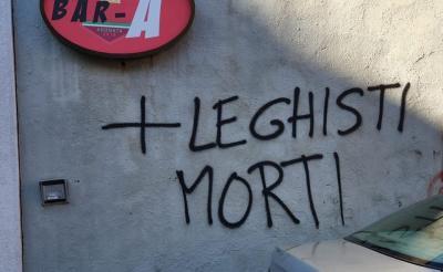 """BISESTI: """"ECCO L'ENNESIMO ESEMPIO DI TOLLERANZA E DI RISPETTO NEI CONFRONTI DEL PROSSIMO DA PARTE DEI SOLITI """"DEMOCRATICI"""" BUONISTI!"""