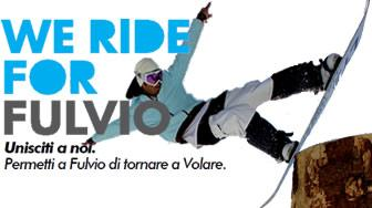 We ride for Fulvio!