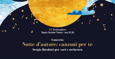"""""""Ed io tra di voi"""" il ricordo di Sergio Bardotti a Trento"""