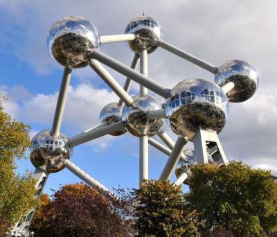 L'Atomium di Bruxelles, segno tangibile dell'Expo 1958