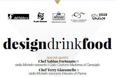 """Gusto ed emozioni: la ricerca del dettaglio di """"Design, Food & Drink"""" ad Arco"""