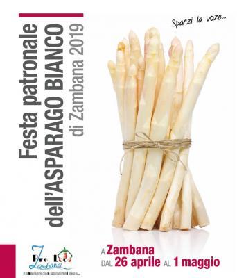 Sparzi la voce: a Zambana torna la Festa patronale dell'Asparago bianco