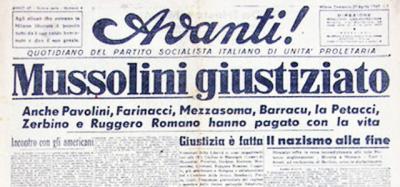 La cattura e l'uccisione di Mussolini