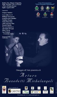 I grandi nomi del concertismo internazionale per ricordare il pianista Arturo Benedetti Michelangeli